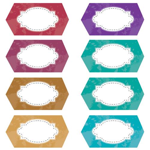Etiquettes décoratives - Aurore Daviot