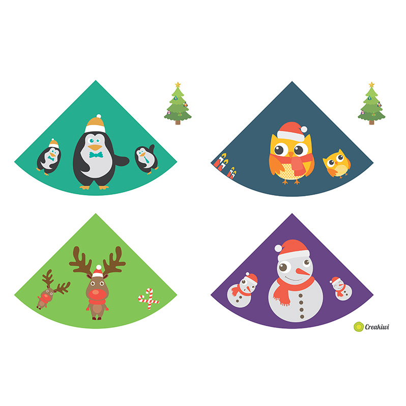 Décorations sapin Noël 2016 - Aurore Daviot
