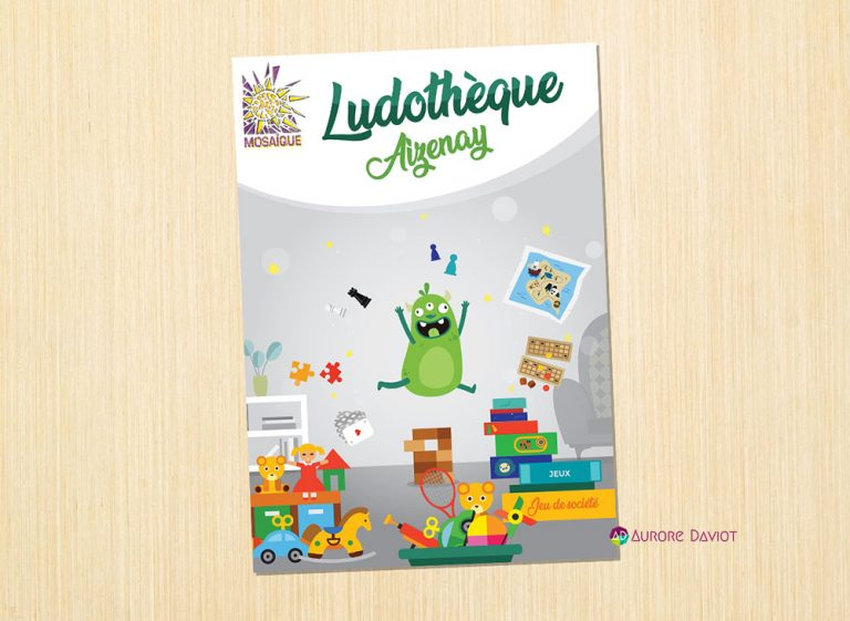 Flyer Association Ludothèque Aizenay